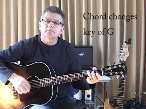 Chord Changes Key of G