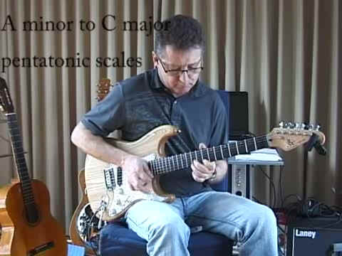 Pentatonic Scale Shift A minor to C Major