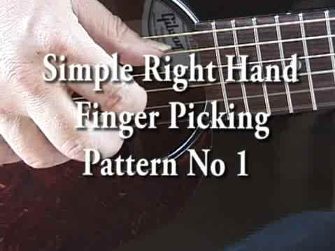 Right Hand Picking Pattern No 1